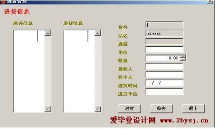 超市信息管理系统的设计与实现本科毕业论文