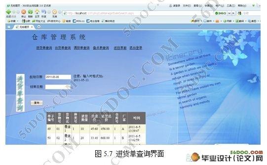 基于bs模式企业库存管理系统的设计与实现|.net|毕业