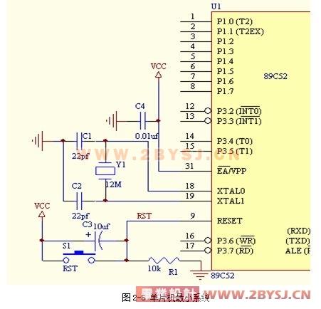 实时日历时钟显示系统的设计(论文 翻译) 单片机 电子