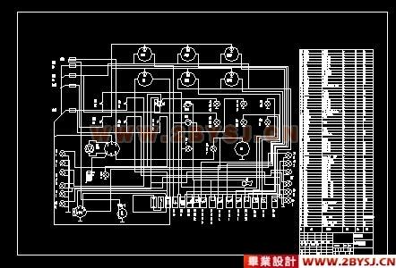 此种控制方式的电路结构复杂,接触器和辅助触点较多,容易出现故障.