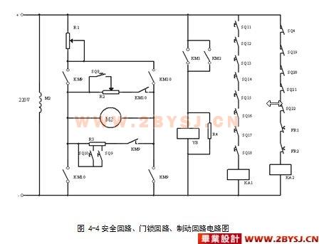 五层电梯plc控制系统设计毕业论文