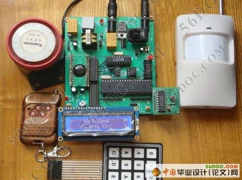 关键词:单片机;自动报警系统;双音多频芯片