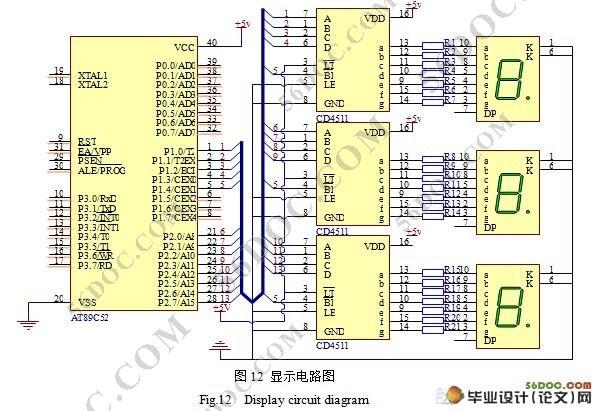 基于单片机的新型抢答器设计(含原理图,PCB图,电路图,程序)(开题报告,中期检查表,毕业论文17000字,cad图) 摘 要:本设计介绍一种利用AT89C51单片机及其外围接口电路实现的抢答系统,具有很强的实用性。本设计功能齐全,可通过LED数码管显示出获得抢答权的编组号,抢答器要有自动定时功能,并且一次抢答时间由主持人任意设定。当主持人启动开始键后,定时器自动减计时,并在显示器上显示。同时扬声器上发出短暂声响,并能显示各组选手的得分情况;实现进行倒计时、发光提示、违例判别和不同分值的加减、不同分值