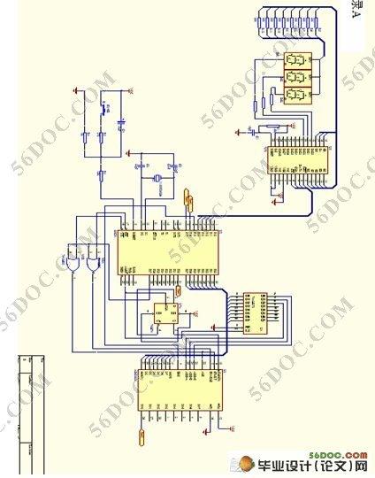 该系统以stc89c51单片机为核心,由酒精传感器mr513,adc0809转换器
