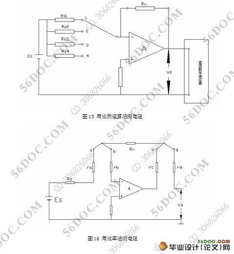 免测电表内阻的伏安法电路设计及其应用研究