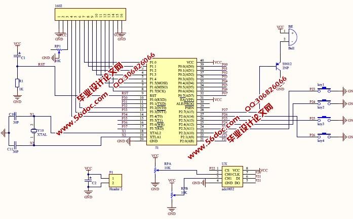 多功能电气参数测试仪的设计(含电路图,proteus仿真程序)