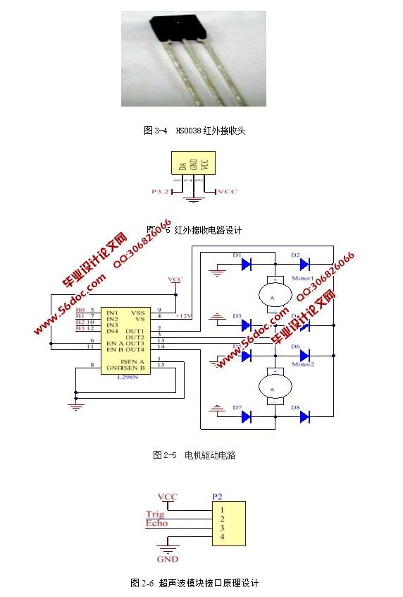 基于单片机智能公交小车控制系统设计(含电路