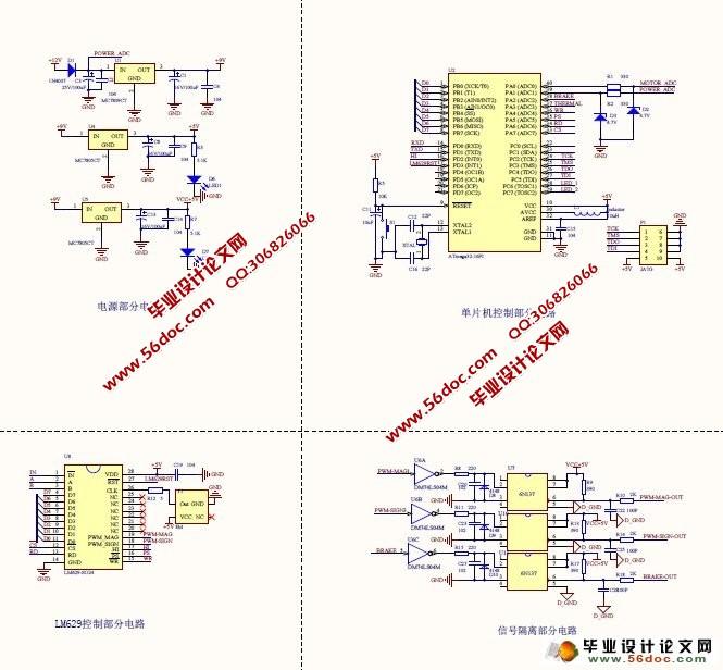 基于avr单片机直流电动机伺服系统的设计