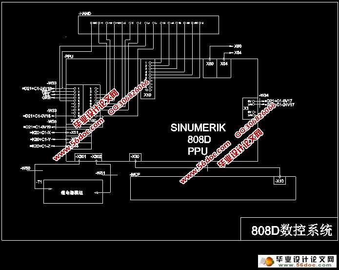 关键词:  数控系统;  数控铣床;  主电路;  控制电路;  plc控制