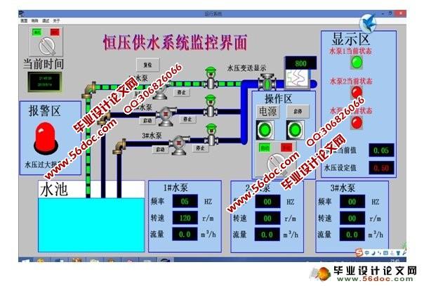 基于plc高楼恒压供水系统设计及仿真(含梯形图)