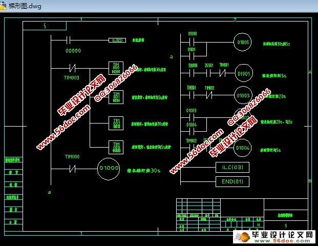基于plc控制三台皮带机的毕业设计