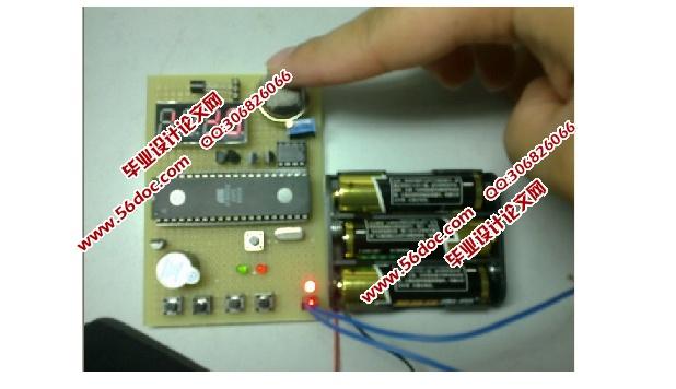 火灾自动报警系统的设计(含电路图,程序)(课题申报表,任务书,开题报告,中期检查表,外文翻译,论文18200字,程序,答辩PPT) 摘 要 本文利用单片机结合传感器技术而开发设计了这一火灾自动报警系统。本设计将采用DS18B20数字温度传感器,可将温度信号直接转换成数字信号送给单片机,电路简单,成本低;同时可设置温度报警值,实现声光报警。选用MQ-2型半导体可燃气体敏感元件烟雾传感器实现烟雾的检测,具有灵敏度高、响应快、抗干扰能力强等优点,而且价格低廉,使用寿命长。采用LED数码管显示模块可以直观的显示实