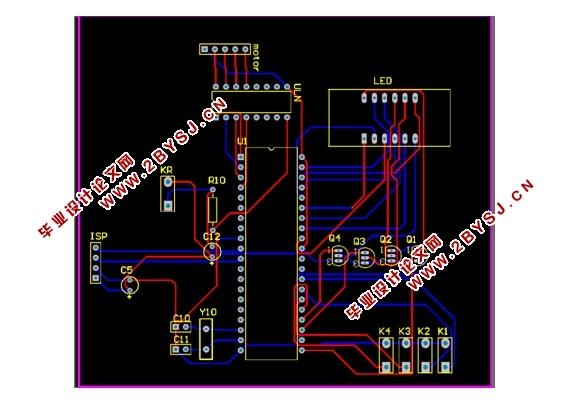 基于单片机步进电机控制系统的设计(含PCB,仿真程序)(论文8200字,PCB,仿真程序) 摘 要 步进电机控制是工农业生产中经常性的控制项目,传统控制的步进电机的控制存在控制精度差、控制速度单一等缺点。本文提出了一种基于STC89C52单片机和步进电机驱动芯片的步进电机的系统解决方案,用于提高步进电机的整体控制效率,提升步进电机的控制的实效性和可操性。系统利STC89C52、ULN2003A、按键和4位一体共阴数码管设计一套智能步进电机控制系统,实现对步进电机的启/停、转向和电机转动的实时控制,并能对步