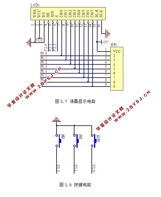 基于单片机的湿度检测与控制器设计(含电路图,proteus仿真程序)