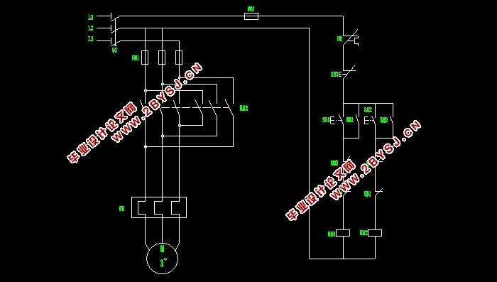 机械系统设计论文_三相异步电动机的正反转及顺序控制电路的设计(含CAD电路图,仿真 ...