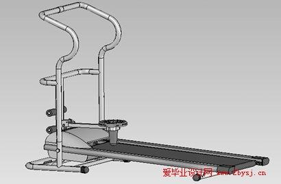 多功能自动跑步机(机械部分设计)