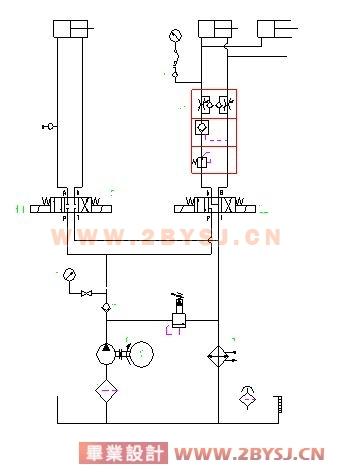 新型万能外圆磨床液压传动系统设计图片