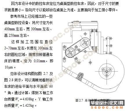 数控车床进给系统的设计(cad图纸+答辩ppt)