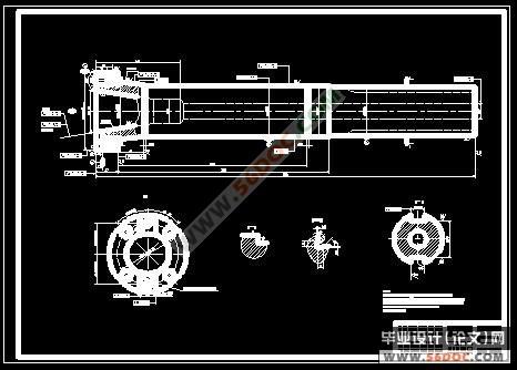 铣床 的 主轴 结构 机床 主轴 结构 数控 铣床 主轴