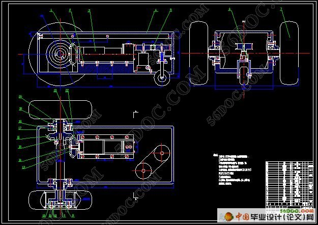 探测机器人系统的设计(电路图+电气图+程序)