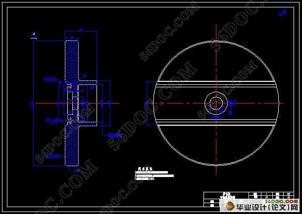 某机架扩孔机设计(含cad零件图和装配图)图片