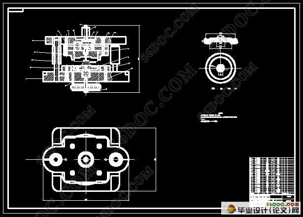 内外缘翻边模具设计(含cad零件图和装配图)
