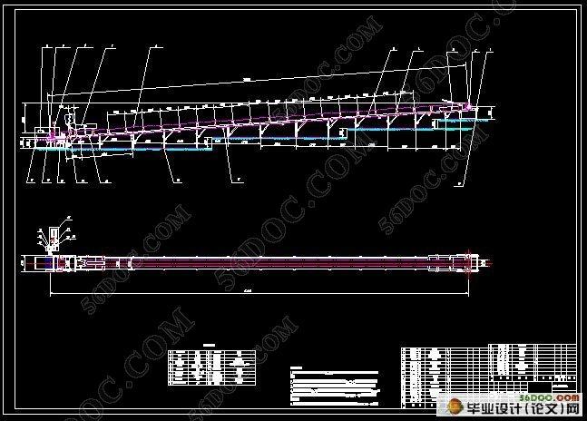 槽形托辊带式输送机设计(含任务书,开题报告,论文说明书25000字,外文翻译,cad图纸) 摘要:本文所设计的是槽形托辊带式输送机,其设计要求为:输送物料为原煤,输送量:500吨/小时,输送长度:30 米,提升高度2.5米;堆积密度:900公斤/米3;物料在带面上的动堆积角为300,输送带速: 2米/秒,上托辊槽形布置。设计中,其整体是一个倾斜的状态,上托辊都采用槽形布置;下(回程)托辊采用平行托辊。本输送机为向上运输物料,其倾斜角为 3.