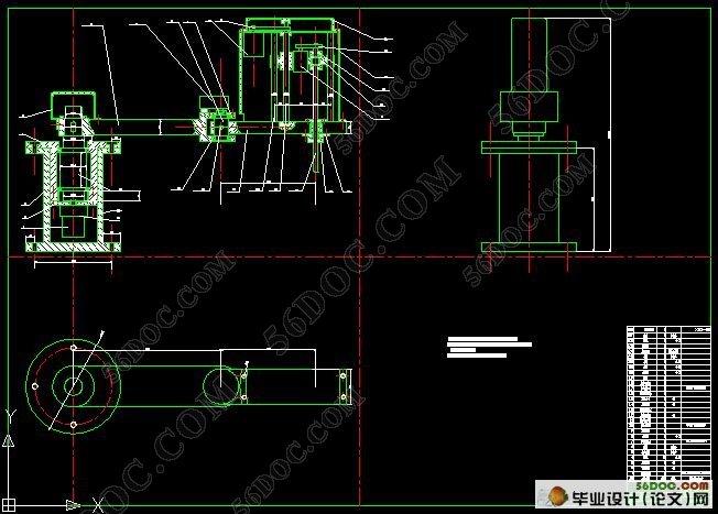 机器人结构设计与运动模拟(含cad图纸和proe