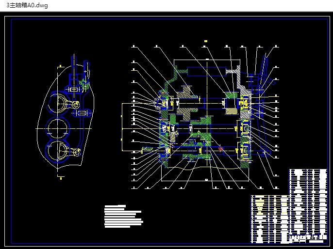 图纸8张,答辩PPT) 本设计介绍了B655型牛头刨床的一些基础知识及其工作原理,还介绍了各个主要部分的组成和作用。主要对B655型牛头刨床床身、滑枕和主轴箱进行了设计。滑枕是装载刀架的工件,它是空心铸铁件,可以控制刀具的装夹方式和装夹位置,也可以调整机床刨削行程的大小;主轴箱是机床主要传动系统,它有三根轴,各个轴上有不同的齿轮,通过不同的传动比传递不同的速度;B655型牛头刨床,主轴箱有两个档位能实现6级变速,机床电动机额定功率是3kW,额定转速为960r/min,它安装在机床底部,这样可以减少床身的振