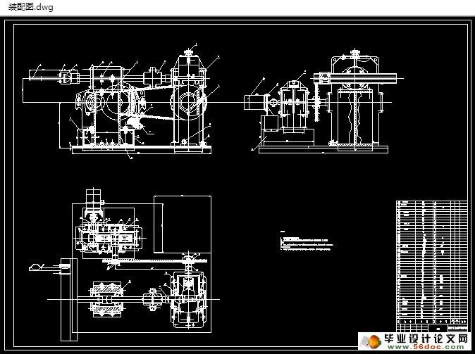 车床主轴箱结构设计(c6140主轴变速箱)(含cad零件装配