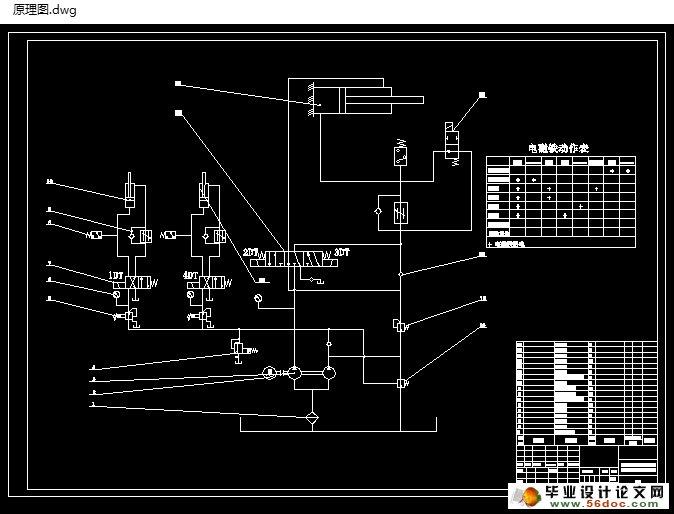 立式成型铣加工专用机床液压动力系统设计-液压站设计