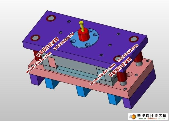冲压设备的选择,模具的总体结构