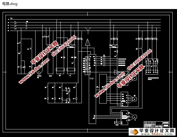 x6230铣床电路图
