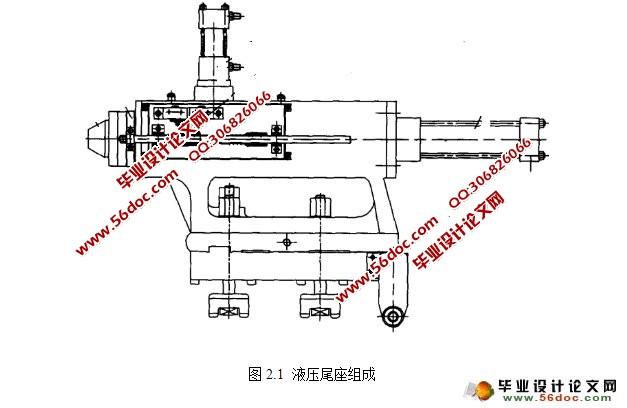 数控车床尾座套筒液压装置设计(含cad零件图装配图)