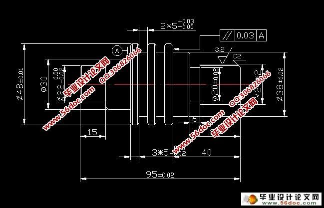 轴零件的数控加工工艺及编程设计(简易)