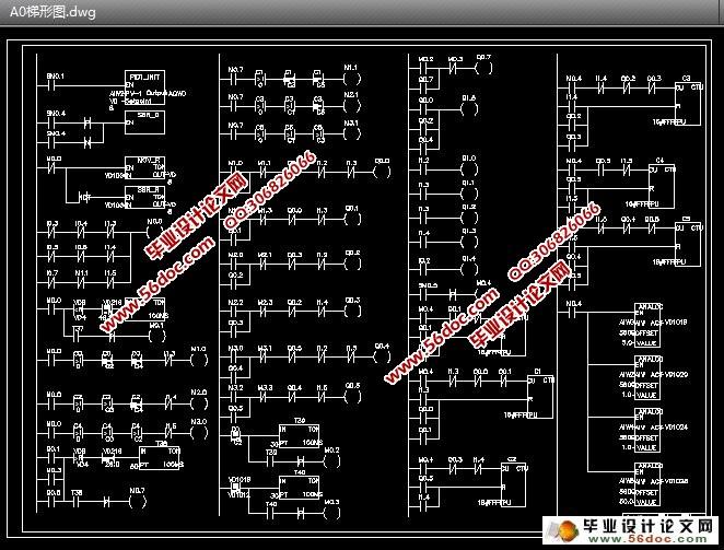 """原理图,流程图,梯形图)(设计说明书15500字,CAD图纸6张) 本设计方案基于煤矿工业设计采用PLC和变频器实现对空压机组的自动控制。该方案采用变频器实现对空压机""""一拖多""""的控制,PLC实现变频器的工频与变频的转换控制,以及切换变频器对某台空压机进行控制。系统利用压力传感器采集气包出口压力,通过变送器输出4~20毫安标准信号至PLC模拟输入端口,经过PLC内部PID算法逻辑运算,送出控制信号至变频器,变频器根据送来的信号改变输出电压的频率,来调节电机转速,以确保供气压力的恒定。"""