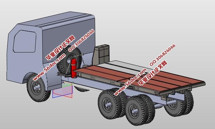 煤炭采样车底盘结构的设计(含cad零件装配图,solidworks三维图)