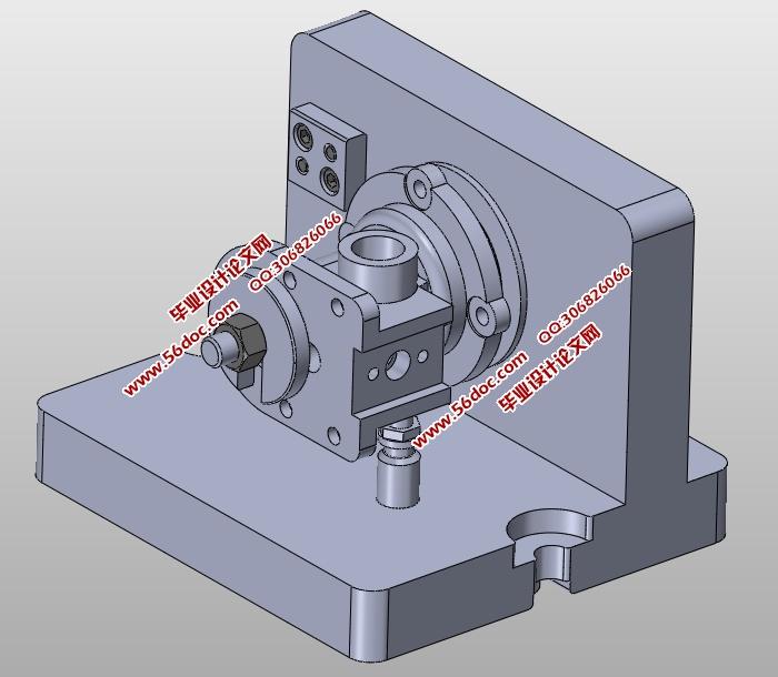 壳体零件某一工序专用夹具设计(含cad图,caxa图,solidworks三维图)