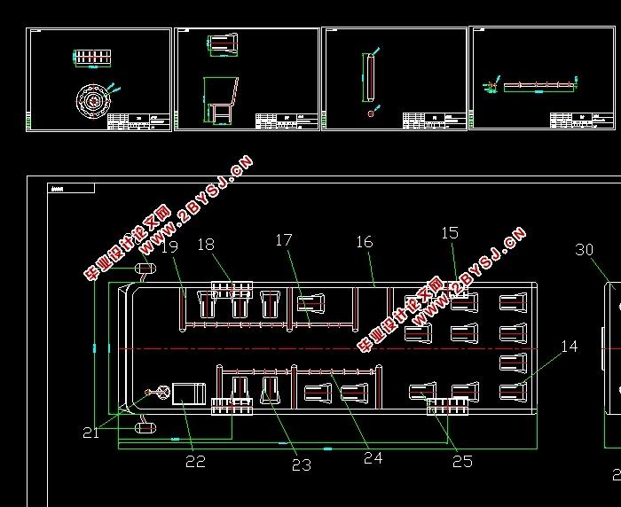 图纸5张) 城市公共汽车总体车辆结构设计。依据某型城市公共汽车所要求的技术匹配参数,选择适当的齿轮传动方案,在此基础上进行传动比分配与各级传动参数如模数、齿数、螺旋角等的确定。通过对运动副的受力分析,依照相关标准进行静强度校核。   摘 要 1 引 言 1 1.1国内外发展现状与趋势 1 1.