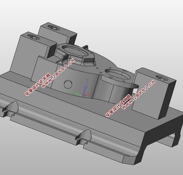 拖拉机传动箱零件的加工工艺分析(含cad图,ug三维图,工序卡,工艺卡)
