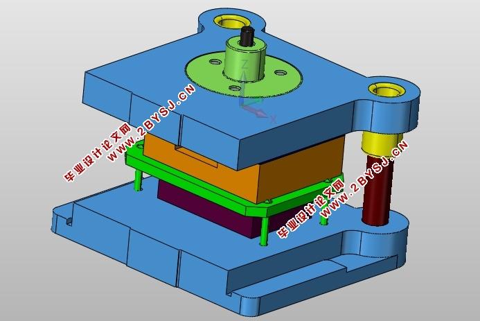 图纸11张,UG三维图) 摘 要 首先对冲压件进行分析,分析该零件的尺寸精度得出用一般精度的模具即可满足零件精度的要求,再根据零件的形状、尺寸标注及生产批量等情况,选择落料拉伸的方案。在本次设计拉伸落料复合模中,仅要考虑使做出的零件能满足使用要求,还要保证模具的使用寿命。该冲裁模具还详细地叙述了模具成型零件包括上模架、凹模、凸模、凸模固定板、凸凹模固定板、上模架、下模架、卸料板、模柄等的设计,重要零件的工艺参数的选择与计算,推出机构以及其它结构的设计过程,其中里面也包括了:工艺分析,工艺方案的确定,计算毛