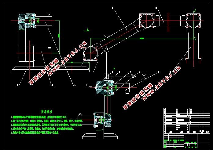 平板搬运机械手设计(含CAD零件图装配图,SolidWorks三维图)(开题报告,论文说明书15000字,CAD图纸19张,SolidWorks三维图) 摘 要 在我国迅速崛起的电子商务领域中,我国传统的人工物流模式难以应对目前迅速增长的货运量,限制了我国物流业甚至电子经济的发展。因此研发平板搬运机械手来替代效率低下的传统人工作业很有必要。平板搬运机械手需能自主检测到货堆中货物的所在位置,根据位置信息控制机器人的执行机构进行拣选即拆零动作,完成自动化作业。 本文简述了平板搬运机械手在国内外的发展历程、趋势