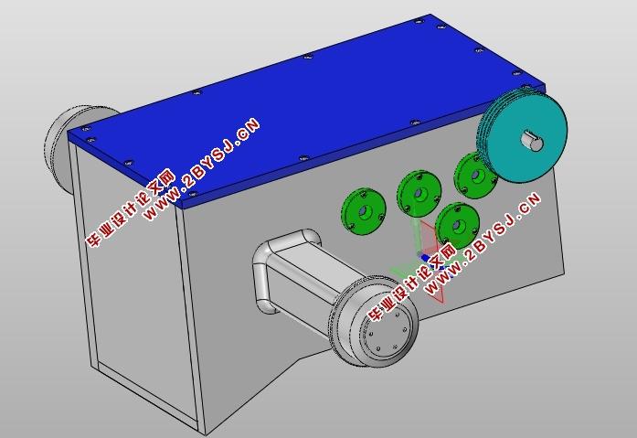 拖拉机变速箱的设计(含cad零件装配图,step,x_t,solidworks三维图)