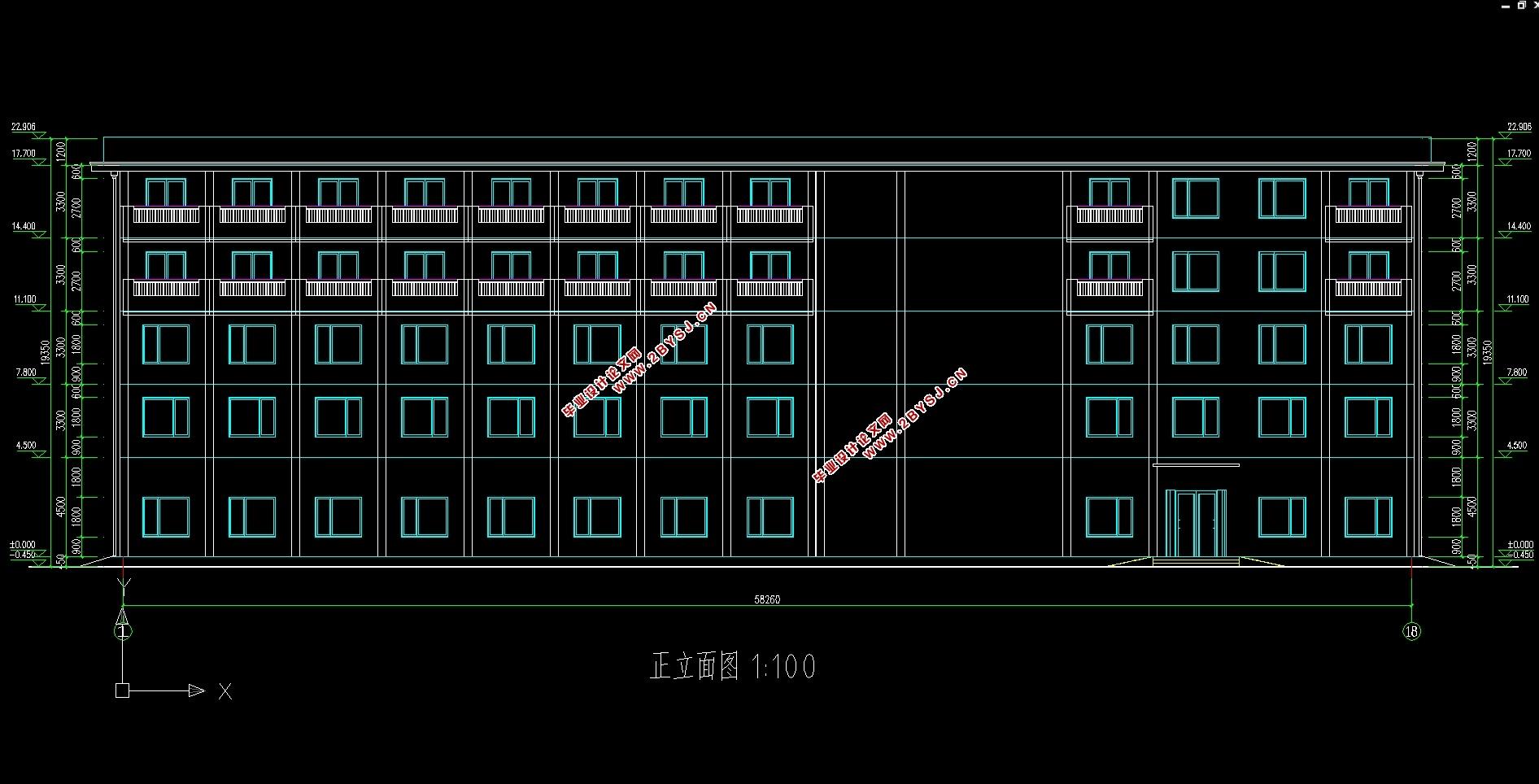 >> 正文   五层4750平米梅溪湖某快捷 酒店设计( 建筑图,结构图)(任务