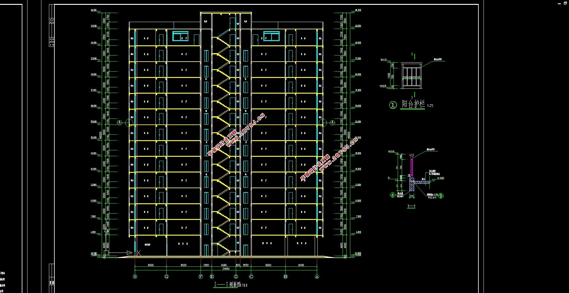 14层高层5479平米住宅楼施工组织设计(建筑图创意vi设计欣赏图片