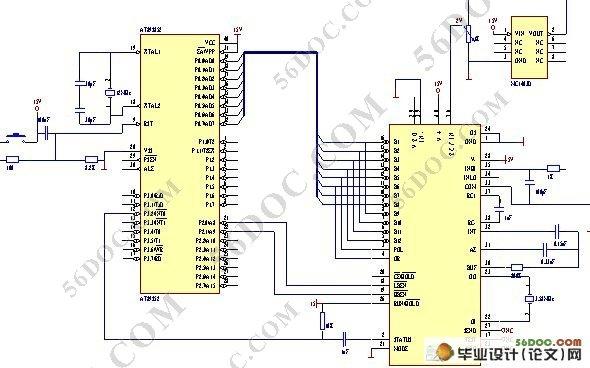 电子秤控制系统设计(附程序和电路图)